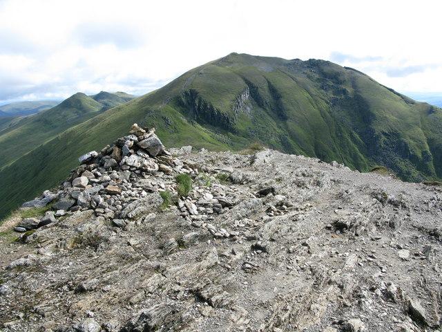 Beinn Ghlas Summit Cairn