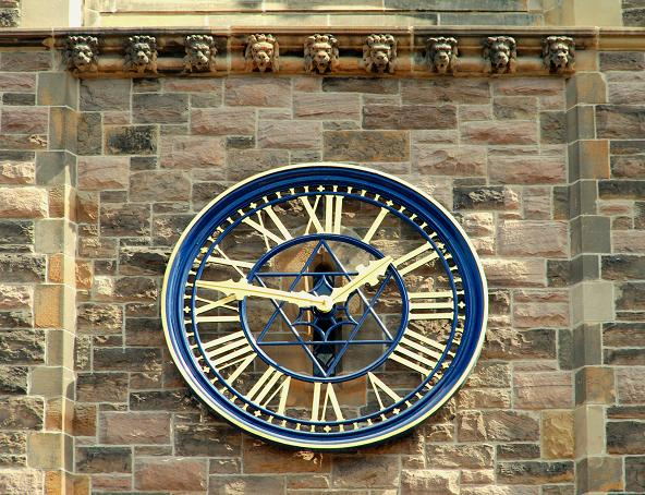 Clock, Church House, Belfast (2)