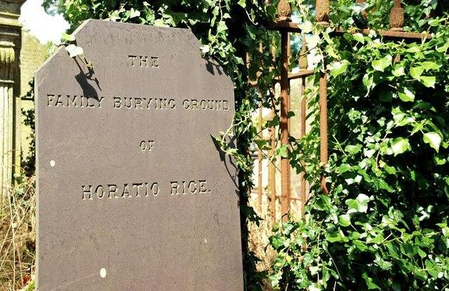 Headstone, Holy Trinity, Drumbo near Belfast