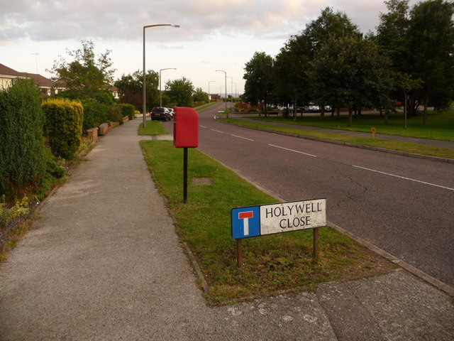 Canford Heath: postbox № BH17 219, Tollerford Road