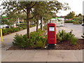 SZ0294 : Canford Heath: postbox № BH17 398, Neighbourhood Centre by Chris Downer