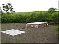 NU0328 : Fowberry Mains borehole by Stephen Craven