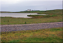 NR2872 : Ardnave loch by Peter Church