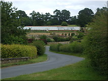 SE7365 : Kirkham Hall walled gardens and greenhouses, East Riding by nick macneill