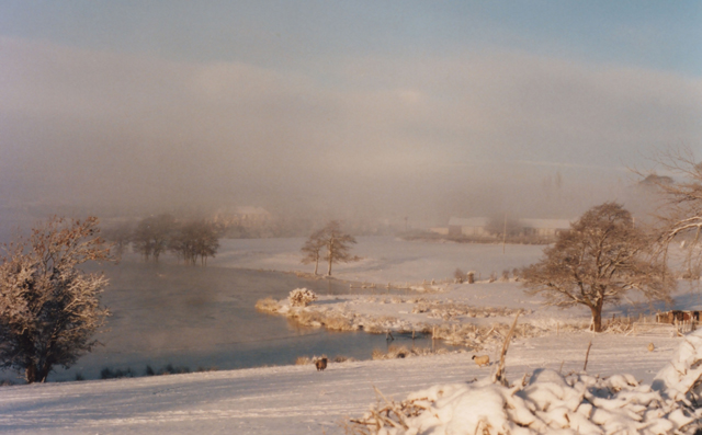 Loughbrickland in winter.