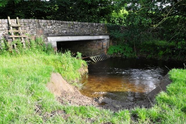 Road bridge over Lupton Beck