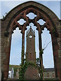 SC2484 : Ruins of St.Peters Church by Dave Pickersgill