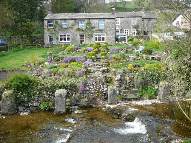 House and gardens in Kettlewell