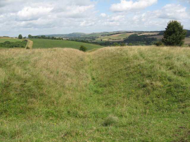 Roman fortifications, Hod Hill