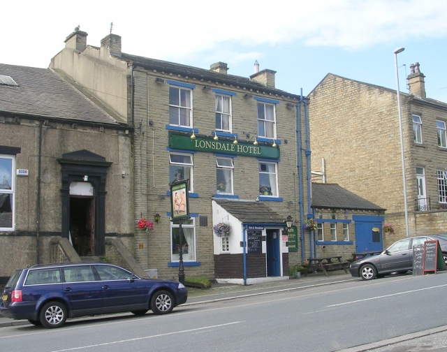 Lonsdale Hotel - Halifax Road by Betty Longbottom