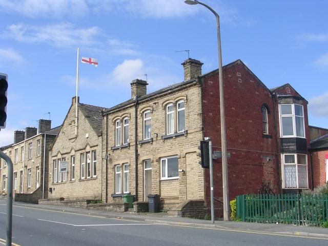 Millbridge Working Men's Club - Huddersfield Road by Betty Longbottom