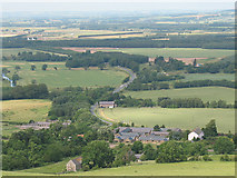 NT9529 : View over Akeld from the south by Stephen Craven
