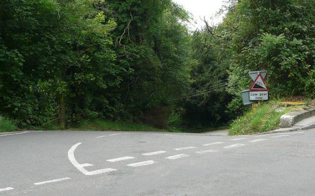 Downe Road - Steep Hill 25%