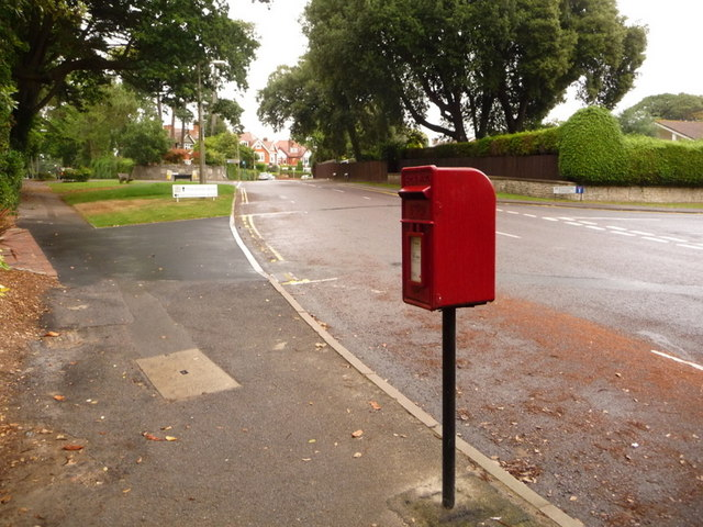 Branksome: postbox № BH13 169, Westminster Road