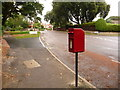 SZ0690 : Branksome: postbox № BH13 169, Westminster Road by Chris Downer