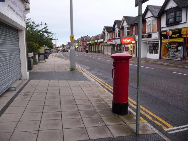 Parkstone: postbox № BH14 49, Ashley Road