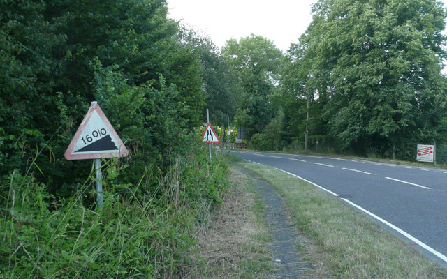 Pebble Hill Road - Steep Hill 16%