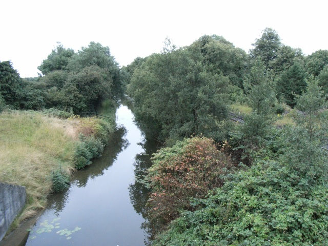 Royal Canal from Moyvalley/Moyvally Bridge in Co. Kildare