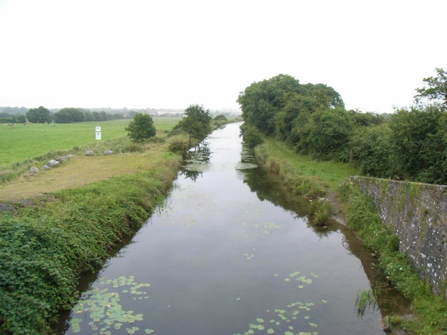Royal Canal from Kilmore Bridge in Co. Meath