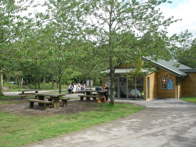 Ridge Cafe and picnic area, Haldon Forest Park