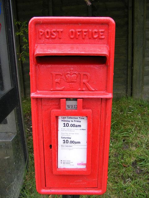 Main Street  Postbox