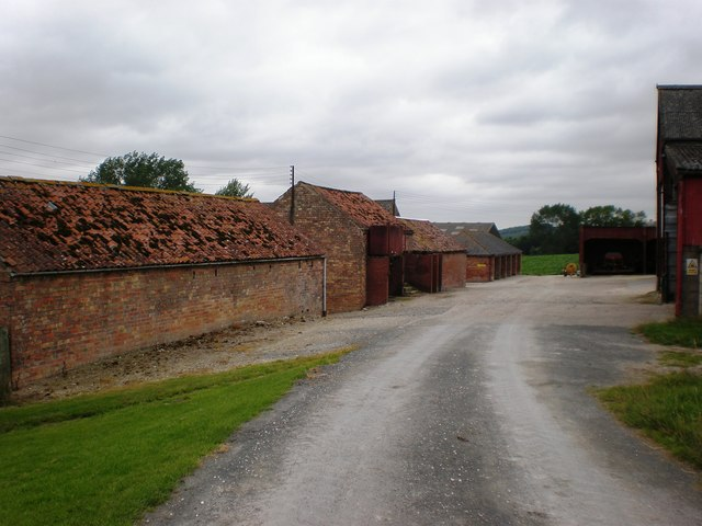 Farm Buildings along the Wolds Way