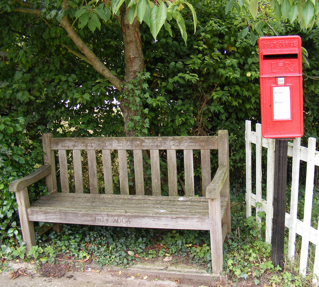 Seat  &  Post Office Postbox