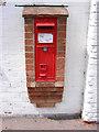 TM3464 : Suffolk Kinsman Victorian Postbox by Geographer