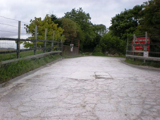 Entrance to Partridge Hall Quarry, Burnby