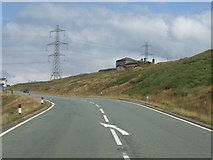 SD9617 : A58 and Broadhead House by Glyn Drury