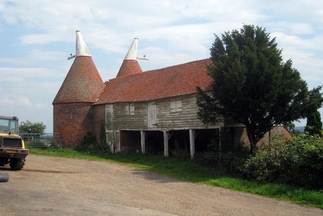 Unconverted Oast House at Old Farm, Lamberhurst Quarter, Lamberhurst, Kent