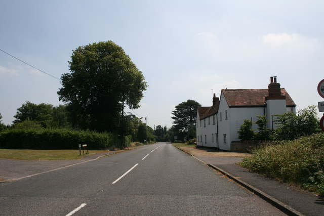 Coming into Tubney