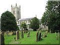 TM2684 : St Mary's church and churchyard by Evelyn Simak