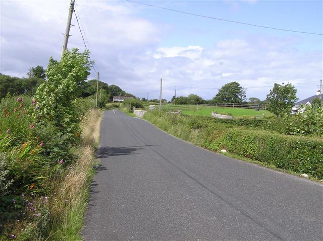 Road at Doobally