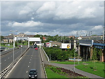 NS5566 : Clydeside Expressway and Railway by G Laird