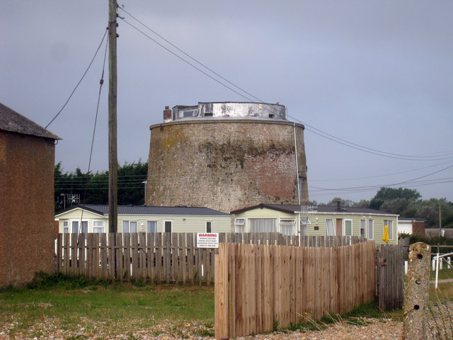 Martello Tower number 62, Pevensey Bay