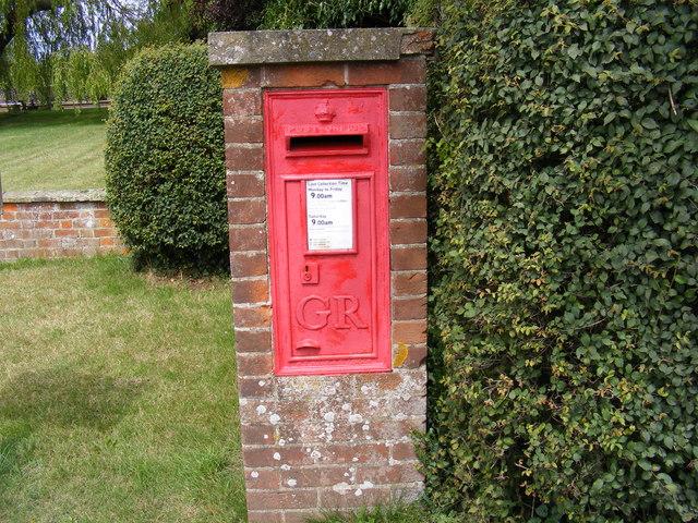 Church Common George V  Postbox