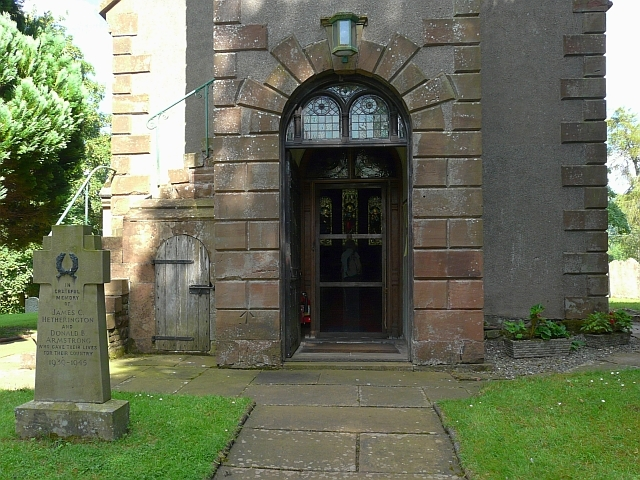 Entrance to St. Peter's Church, Castle Carrock