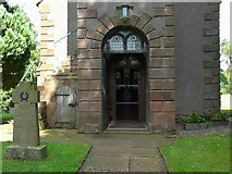 NY5455 : Entrance to St. Peter's Church, Castle Carrock by Rose and Trev Clough