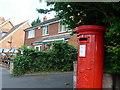SP0549 : Post box at Harvington Post Office by Sarah Ganderton