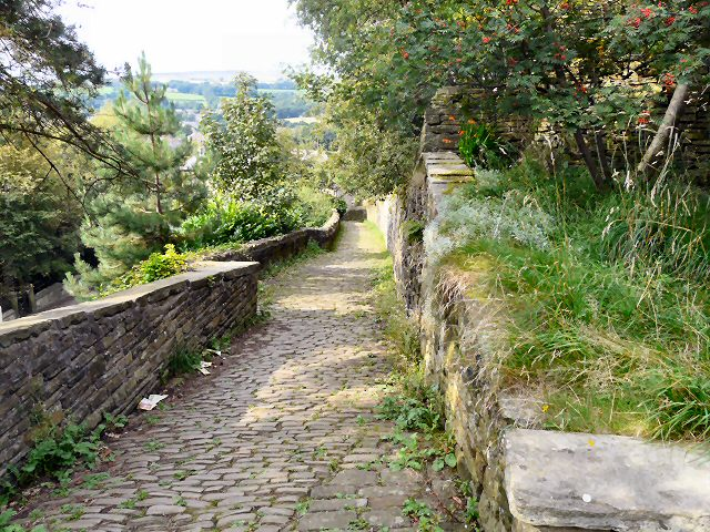 Path from Mottram Church
