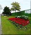 SJ9995 : Mottram Flowerbeds by Gerald England
