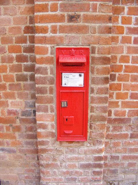 Snape Bridge Victorian Postbox