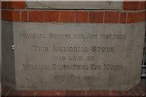 SP0198 : Memorial stone by Derek Bennett