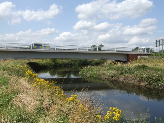 River Trent bridge on the Rugeley Bypass