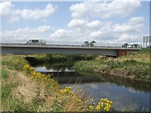 SK0418 : River Trent bridge on the Rugeley Bypass by John M
