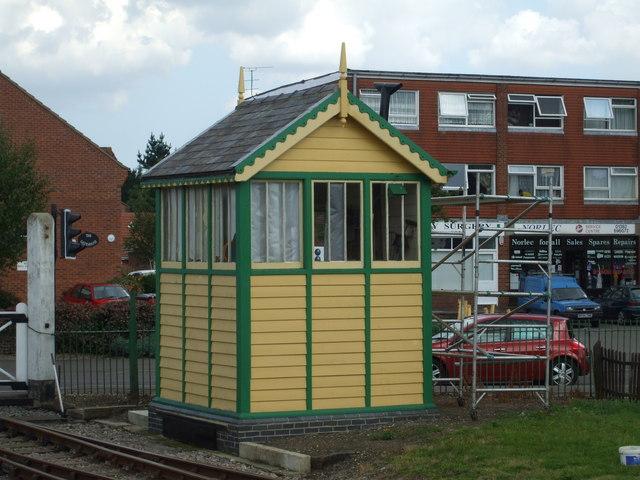Dereham North Signal Box