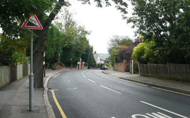 Arthur Road - Steep Hill 10%