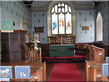 TM4160 : The altar of St Mary Magdalene Church by Geographer