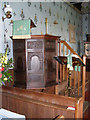 TM4160 : The Pulpit of St Mary Magdalene Church by Adrian Cable
